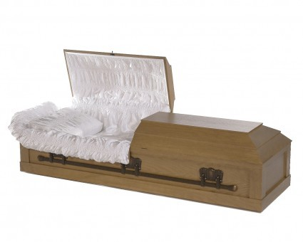 125 Oak Veneer | H.W. Wallace Cremation & Burial Centre