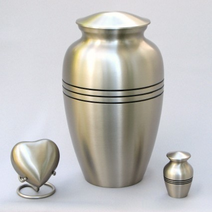 Classic Pewter | H.W. Wallace Cremation & Burial Centre