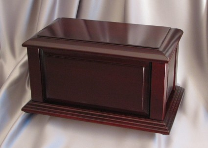 Manchester Satin Cherry | H.W. Wallace Cremation & Burial Centre