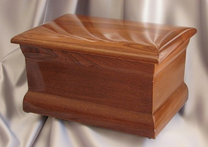 Polished Oak | H.W. Wallace Cremation & Burial Centre