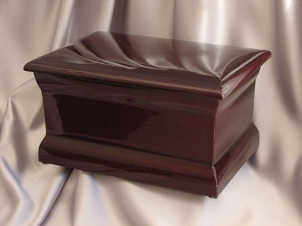 Polished Mahogany | H.W. Wallace Cremation & Burial Centre