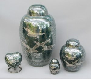 Going Home - Turquise & Silver | H.W. Wallace Cremation & Burial Centre