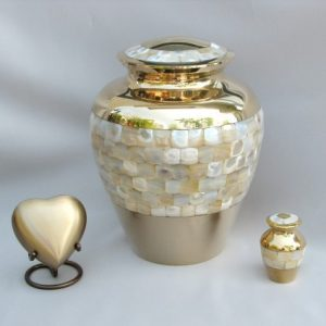 Aristocratic - Mother of Pearl | H.W. Wallace Cremation & Burial Centre