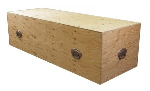 Shipping Box - Casket | H.W. Wallace Cremation & Burial Centre