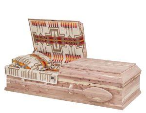 Westcoast Cedar | H.W. Wallace Cremation & Burial Centre